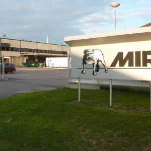 Mirka i Bäljars industriområde i Karis.