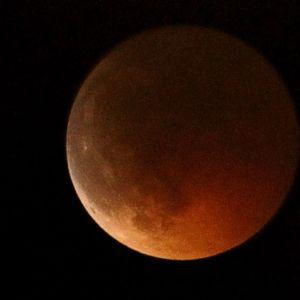 I juni sågs månförmörkelsen i Italien