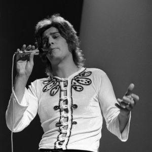 Laulaja Frederik ohjelmassa Pop Story 1972.