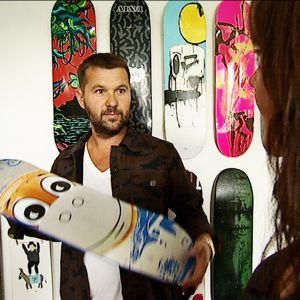 Jens-Peter Brask lopetti graffitien teon ja ryhtyi keräämään modernia taidetta.