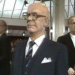 Mikkelin Visulahden vahakabinetin valtiomiessali 1983.
