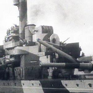 Panssarilaiva Ilmarinen.
