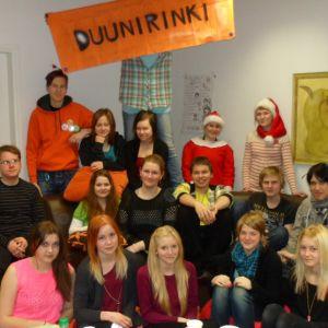 Duunirinki–tiimissä toimii 15 – 20 vuotiaita nuoria.