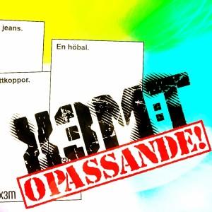 Bild för X3M:t opassande