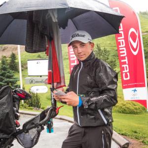 Oliver Lindell på Finnish Tour