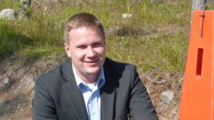 Kommundirektör Mats Brandt i Malax.