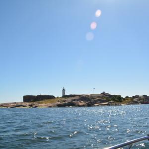 Fyrön Gustavsvärn utanför Hangö