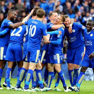 Fotbollslaget Leicester City