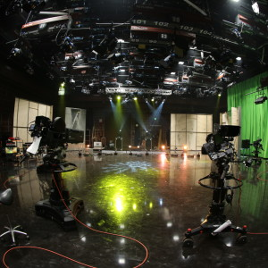 Bild från en stor studio