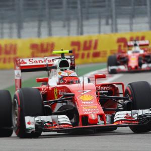 Kimi Räikkönen kom på tredje plats i Sotji.