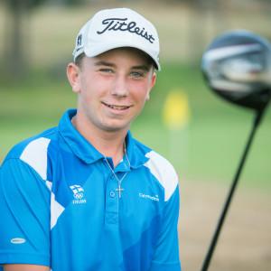 Golfspelare Oliver Lindell från Borgå