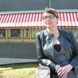 Västra Nylands chefredaktör Marina Holmberg.