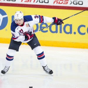 Auston matthews i Junior VM 2015/16.