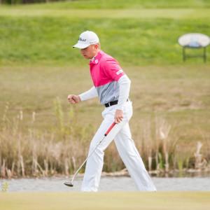 Golfaren Oliver Lindell.