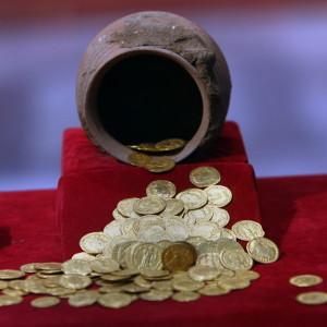 Mynt på museum i Kairo