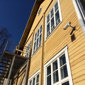 Närbild av Trä-Anttila
