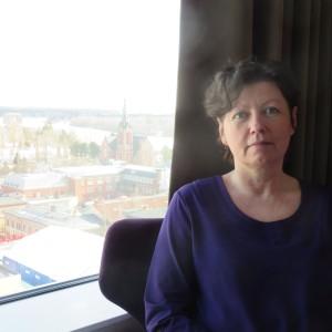 Berit Åström, lektor i engelska vid universitetet i Umeå.