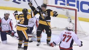 Penguins har fått Capitals ner på knäna.