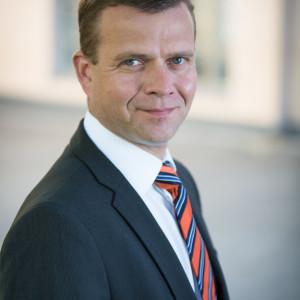 Inrikesminister Petteri Orpo (Saml)