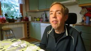 Kördirigenten och rullstolsdansaren Gustav Antell