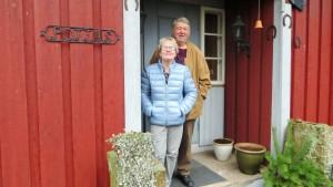 Christine och Jan-Erik Slätis på Pottas i Lappträsk