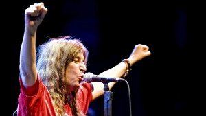 Konsertbild av Patti Smith