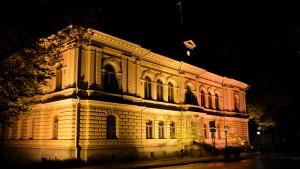 stadshuset i borgå på natten 02.10.15