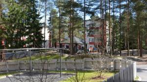 Lekpark på Päivännousevanpolku i Kråkkärret.