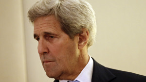 USA:s utrikesminister John Kerry i Genéve 1.5.2016