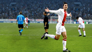 Zlatan firar ännu ett mål.