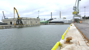 Inkoo Shippings egen hamnbassäng.
