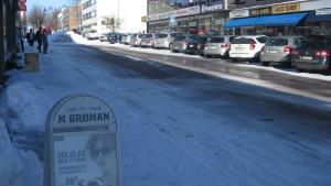 Köpmansgatan i Karis.