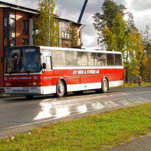 Busstrafik i Korsholm.