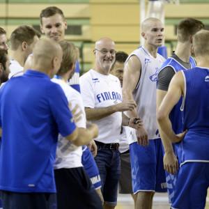 Basketlandslaget förbereder sig i Montpellier.