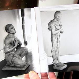 bild på statyer