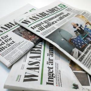 HSS media ger ut bland annat Vasabladet