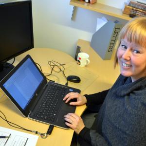 Doktorand Linda Ahlbäck