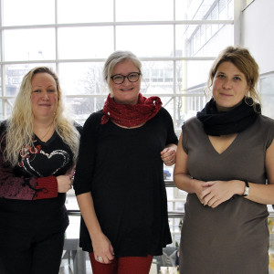 Jessica Rosenholm, Diana Toivola, Cecilia Sahlgren
