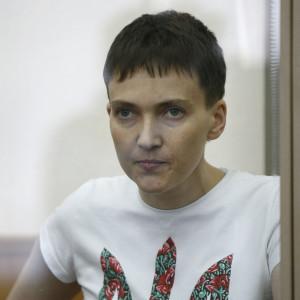 Piloten Nadia Savtjenko dömdes till 22 års fängelse i en rättegång som hon anser var politiskt motiverad