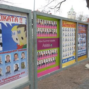 Valreklam inför riksdagsvalet 2011