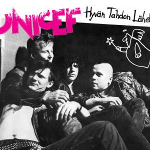 Unicef-yhtyeen Käkimassaa-singlen takakansi