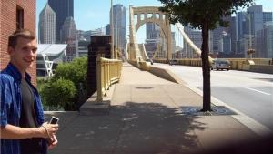 Esa Henrik Holappa i Pittsburgh, USA.