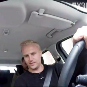 Janne Grönroos tar om körprovet, skärmdump