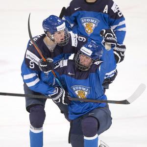 Jesse Puljujärvi och Patrik Laine är finländsk ishockeys stora framtidsnamn.