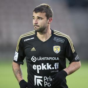 Det blev endast tolv matcher i SJK för Alexei Eremenko junior.