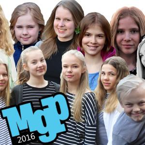 sångarna och dansarna i MGP 2016