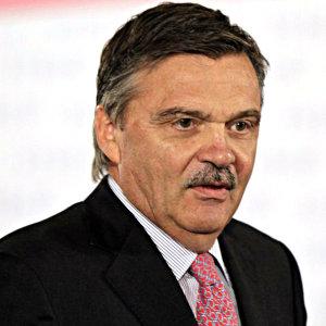 Rene Fasel, IIHF-ordförande.