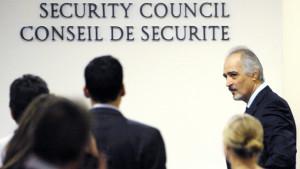 Syriens FN-ambassadör Bashar Ja' afarai