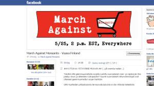 Facebookgruppen March against Monsanto i Vasa