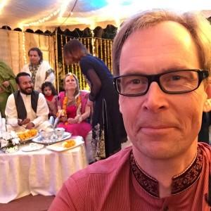 Kaj Arnö på Pakistanskt Grankullabröllop